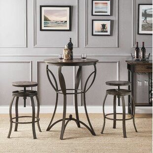 Carino 3 Piece Pub Table Set