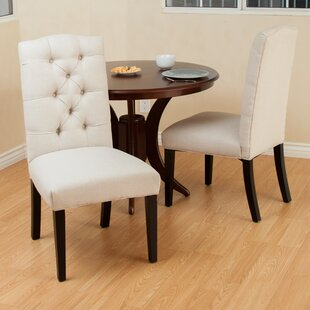 dining button linen set natural amazon tufted dp chair of chairs com