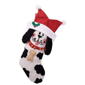 3D Dog Christmas Stocking
