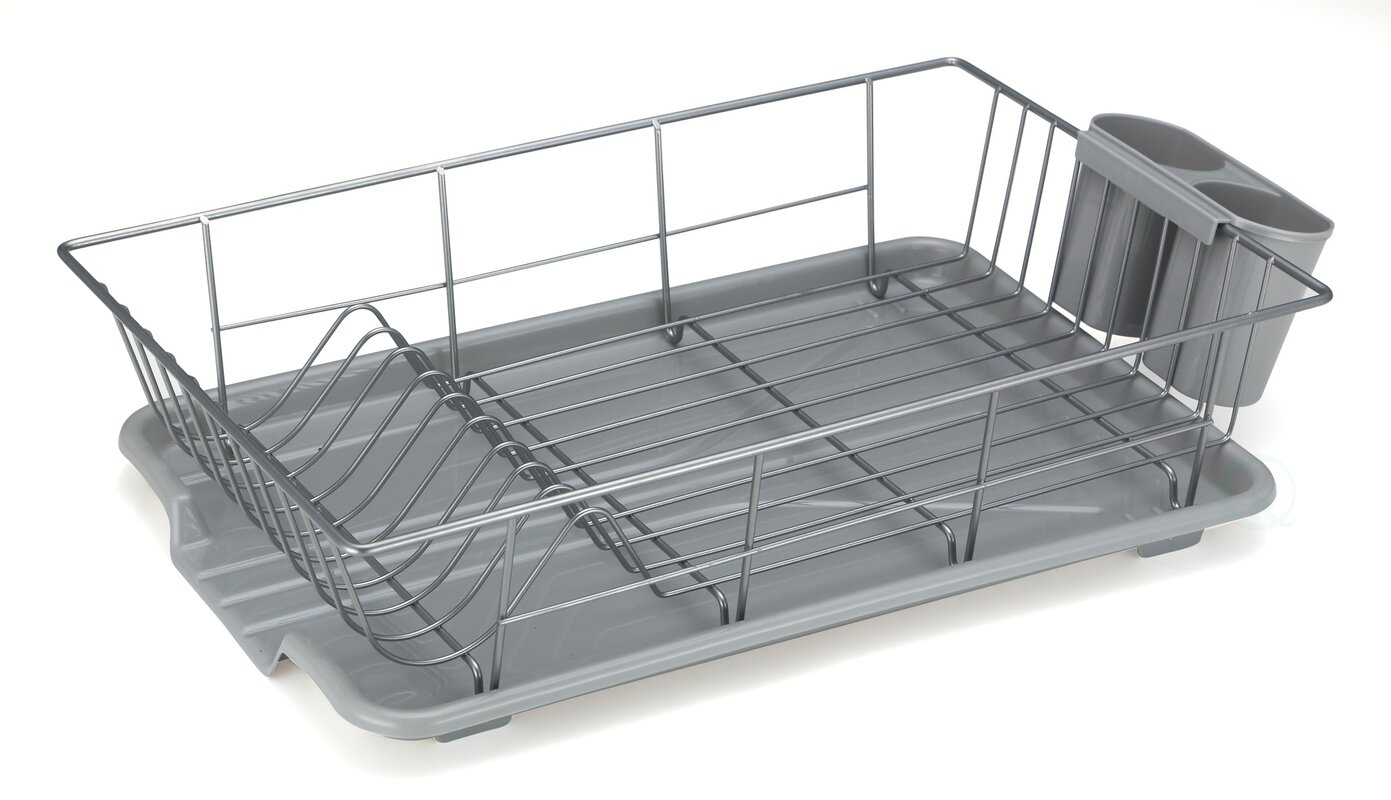 Kitchenaid Stainless Steel Panel Dish Rack With Drainboard