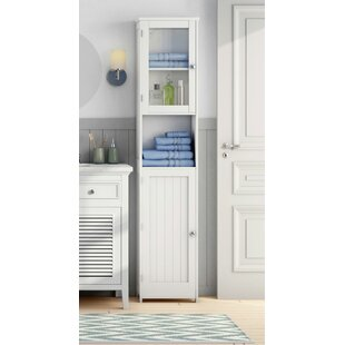 40 X 189cm Free Standing Tall Bathroom Cabinet