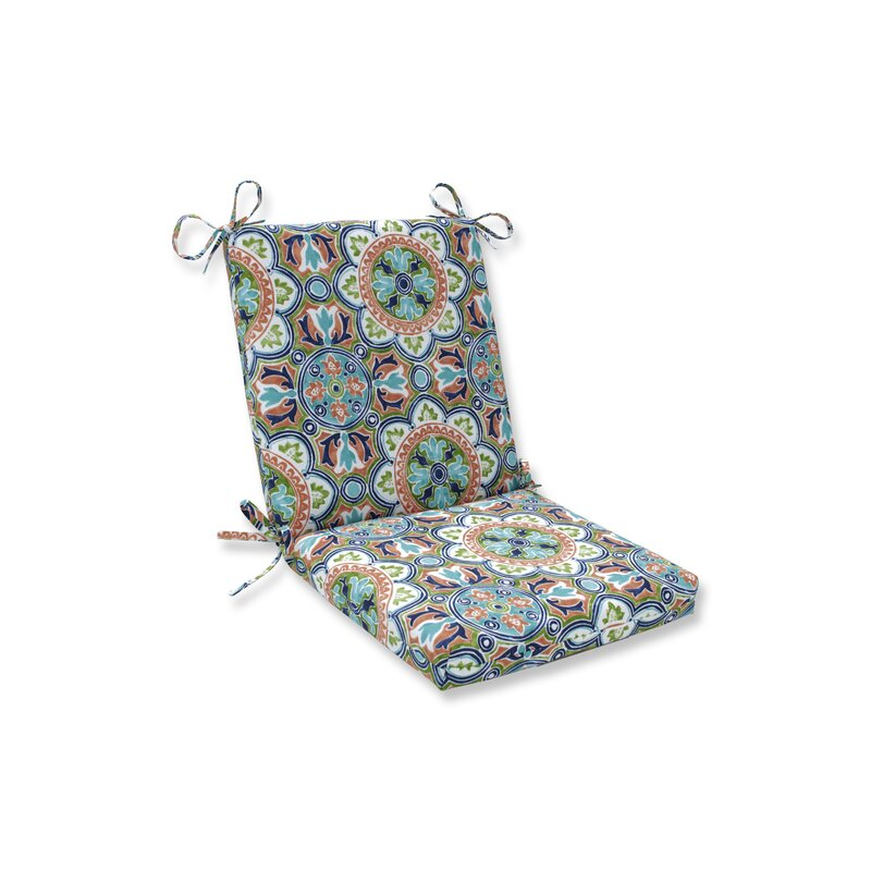 charlton home tile flamingo indoor outdoor rocking chair cushion