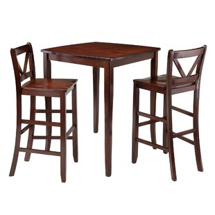 Inglewood 3 Piece Pub Table Set
