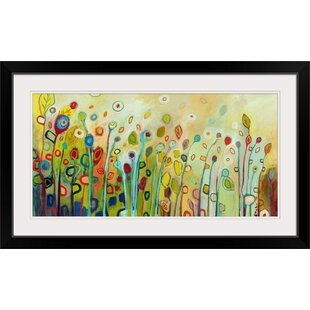 125afde394  Within  Jennifer Lommers Framed Watercolor Painting Print