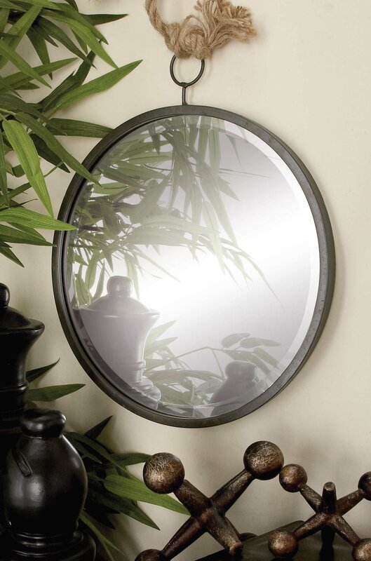 3 Pieces Wall Decor For Living Room: Cole & Grey 3 Piece Metal Wall Mirror Set & Reviews