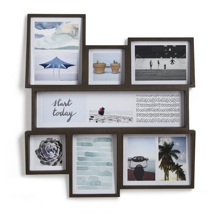 Umbra Edge 7 Opening Collage Wall Picture Frame & Reviews   Wayfair.ca