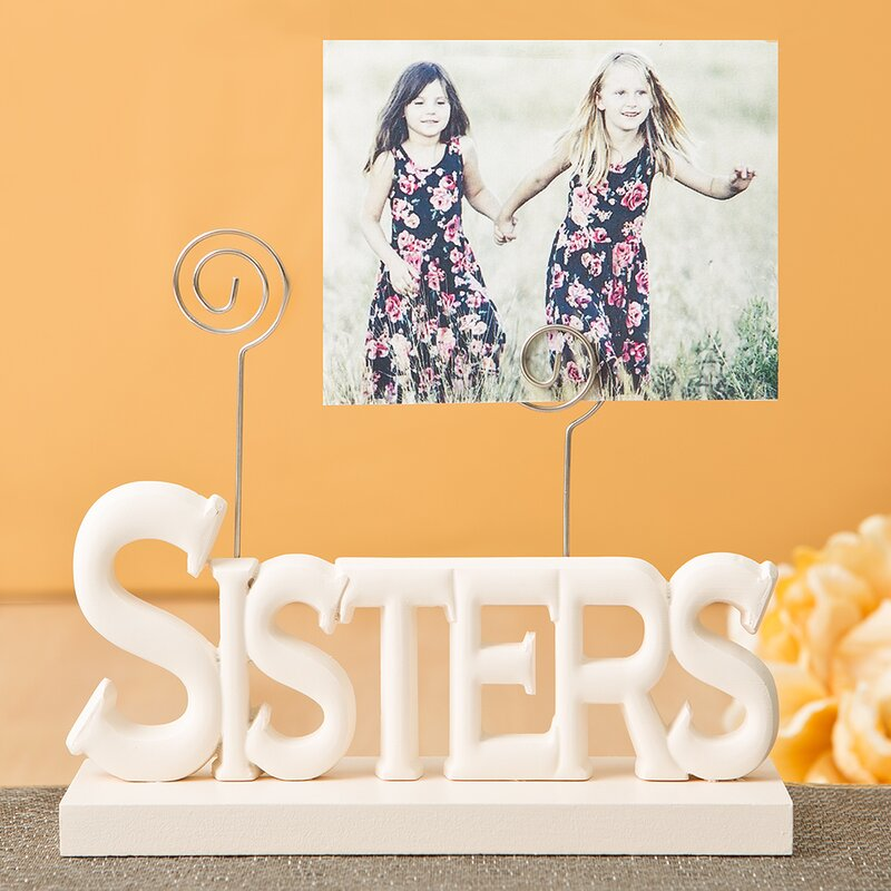 FashionCraft Lovely Sisters Picture Frame & Reviews | Wayfair