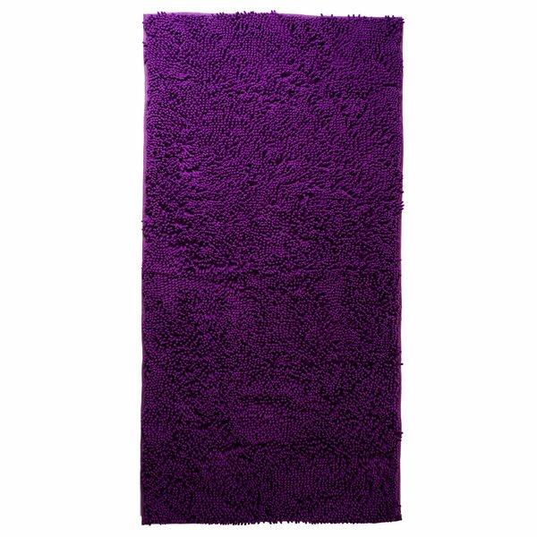 zipcode design jami high pile purple solid area rug u0026 reviews wayfair