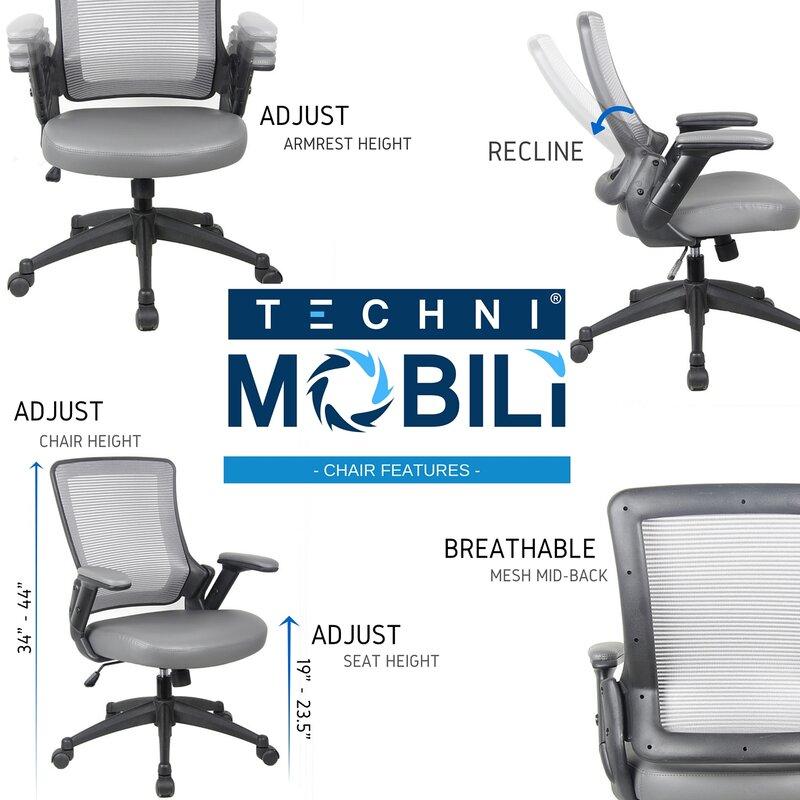 Mid Back Mesh Desk Chair