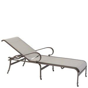 torino reclining chaise lounge