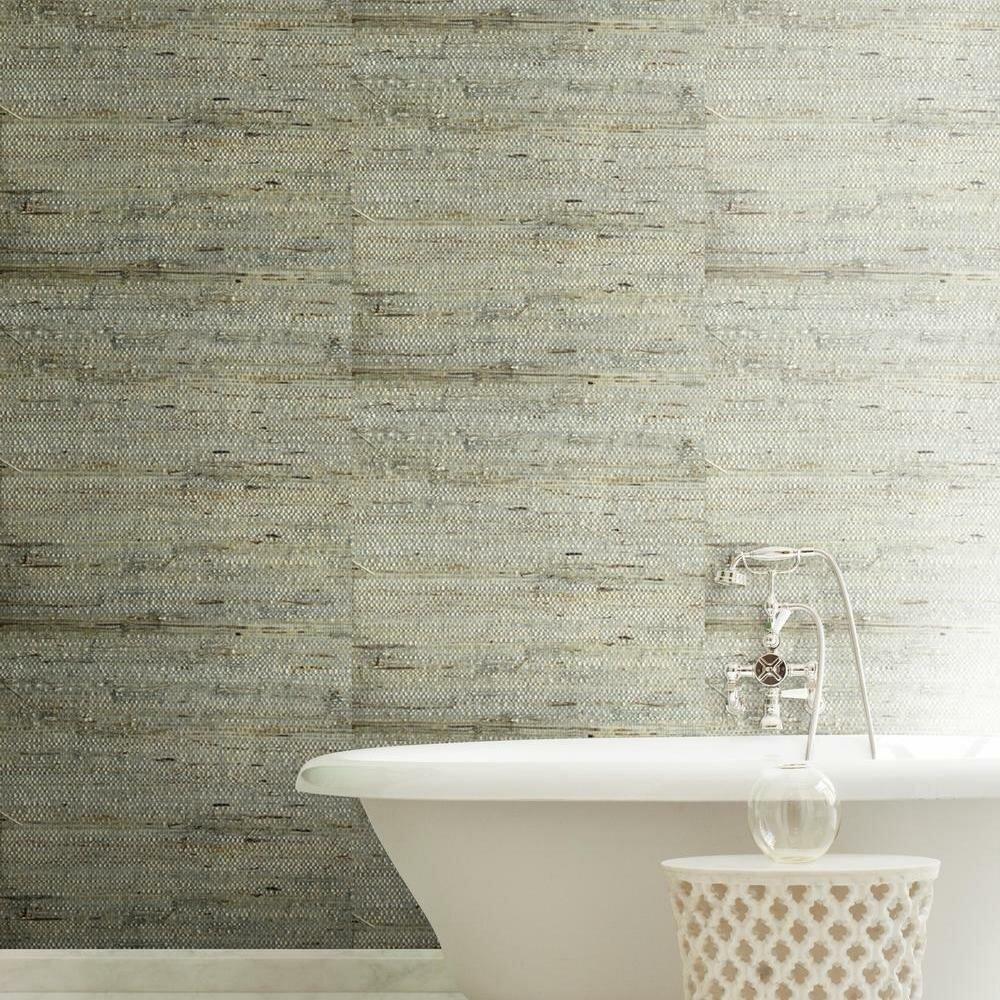 "York Wallcoverings Urban Retreat 24' x 36"" Grasscloth Wallpaper | Birch Lane"