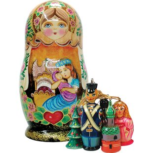 fifer mother love ornament doll - Animated Christmas Dolls