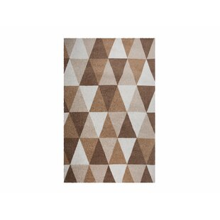 Shannon Hand Tufted Beige Rug by Langley Street