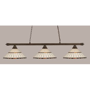 Non hardwired pendants wayfair passabe 3 light hardwired billiard light greentooth Gallery