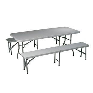 Kids folding picnic table wayfair folding picnic table and bench watchthetrailerfo