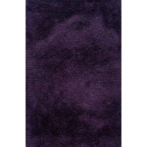 albritton handmade purple area rug