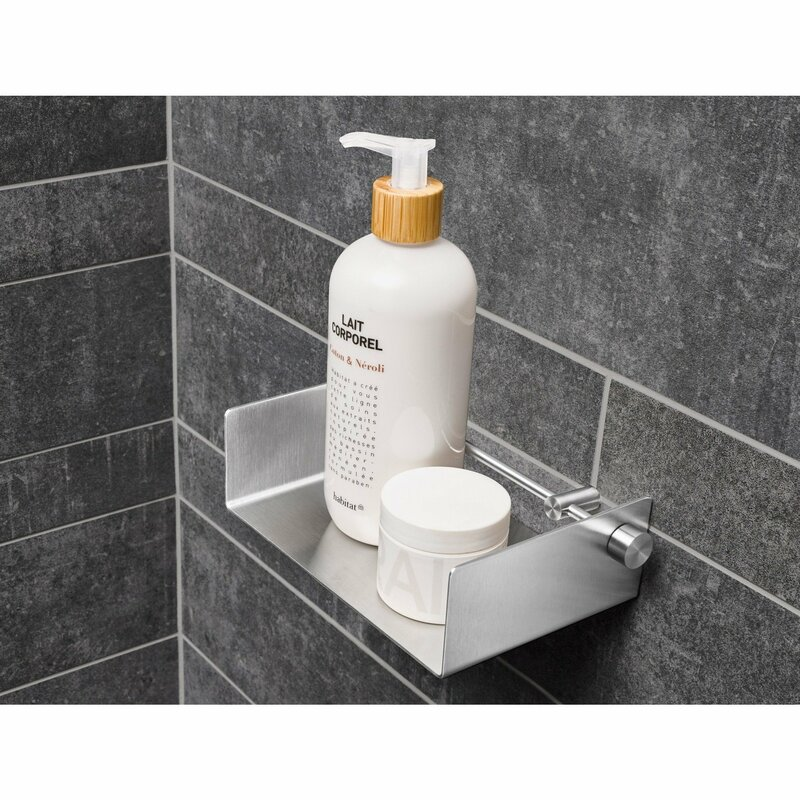 Rebrilliant Browner Bath Shower Caddy Shelf Organizer | Wayfair