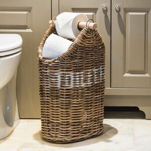 freistehender toilettenpapierhalter key largo - Freistehender Toilettenpapierhalter Mit Lagerung