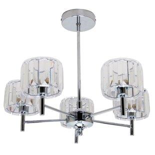 Endon 5 light chandelier wayfair 5 light drum chandelier aloadofball Images