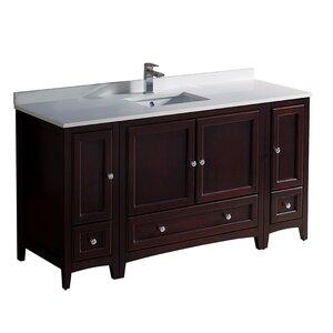 Oxford 60″ Single Bathroom Vanity Set