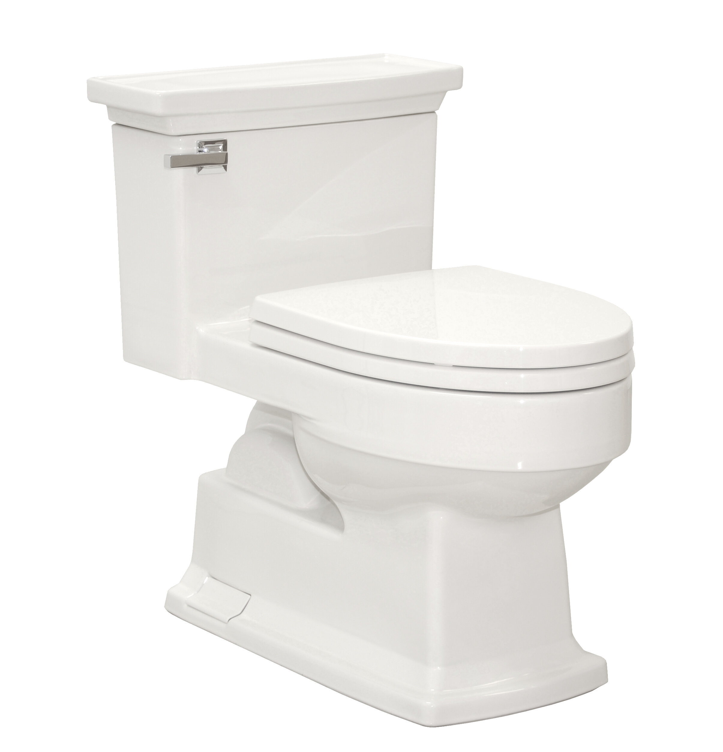 Toto Lloyd Eco 1.28 GPF Elongated One-Piece Toilet   Wayfair