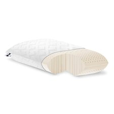zoned dough z high loft plush memory foam pillow