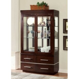 Northfleet Lighted Curio Cabinet Reviews