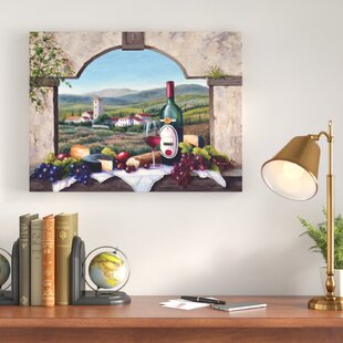 d78daf29259 A Tuscany Vista Painting Print on Wrapped Canvas