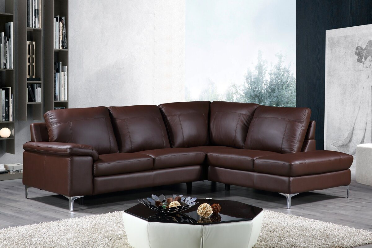 Dallas Leather Sectional