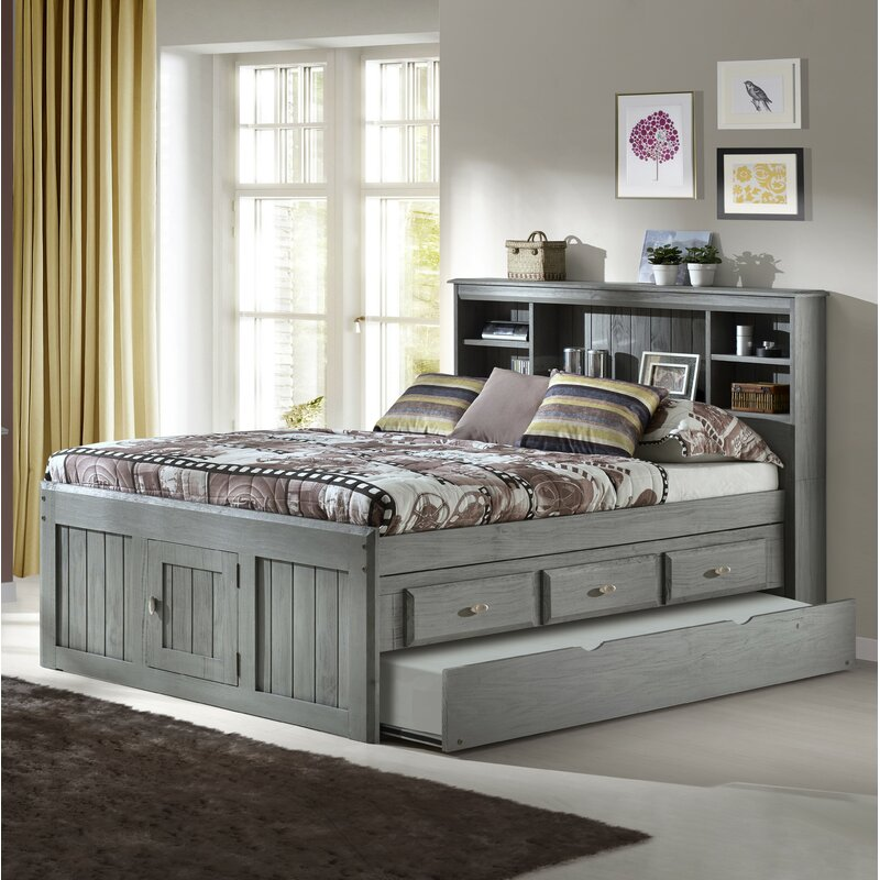 Harriet Bee Garry Full Mate S Amp Captain S Bed With Drawers