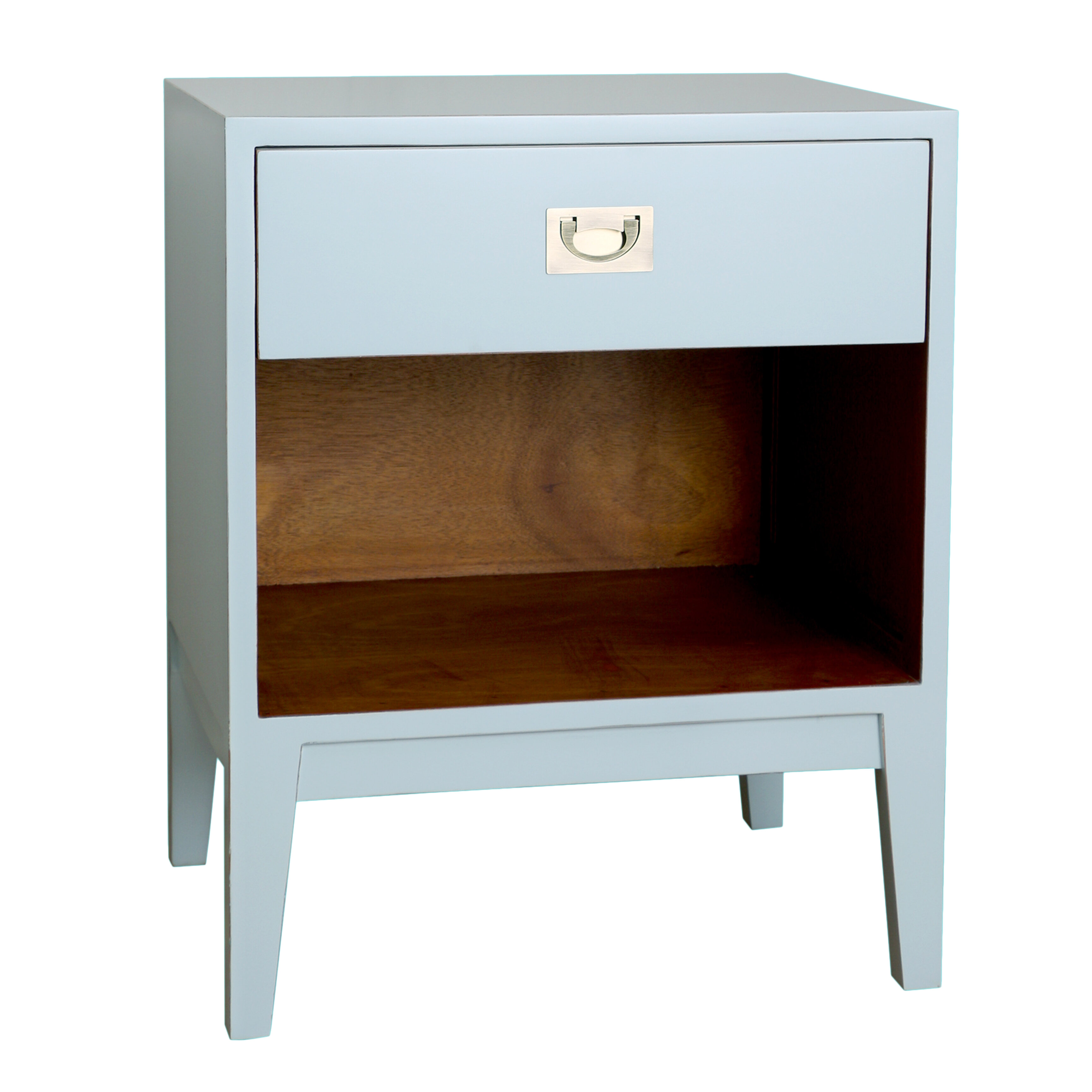 How to clean lacquer furniture White Lacquer Kuchniauani Bungalow Rose Reinaldo Lacquer Nightstand Reviews Wayfair
