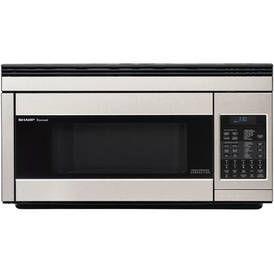30 1.1 cu.ft. Over-the-Range Microwave Sharp Color: Stainless Steel