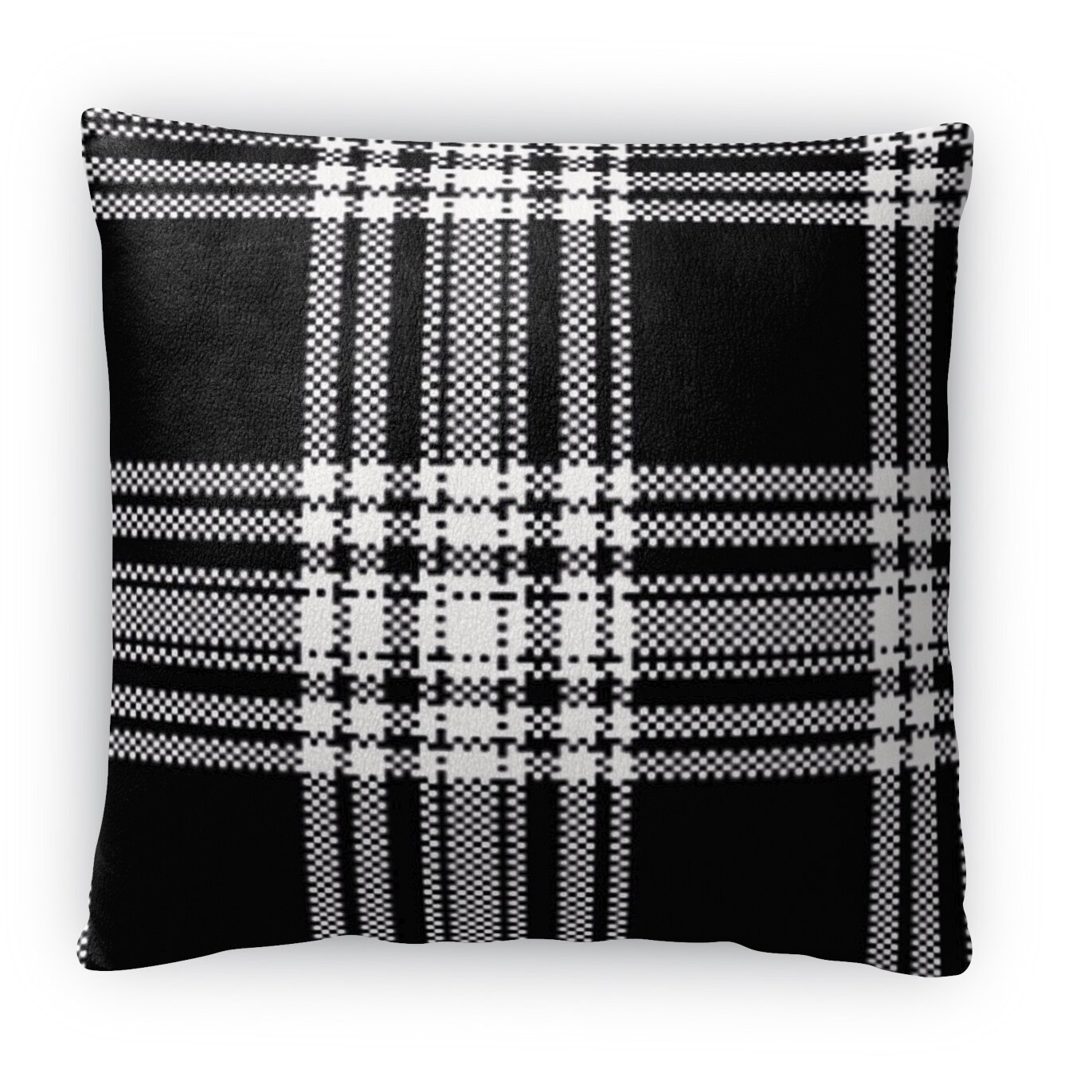 Kavka Plaid Fleece Throw Pillow Wayfair.ca