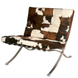 Barca Cowhide Slipper Chair by New Pacific D..