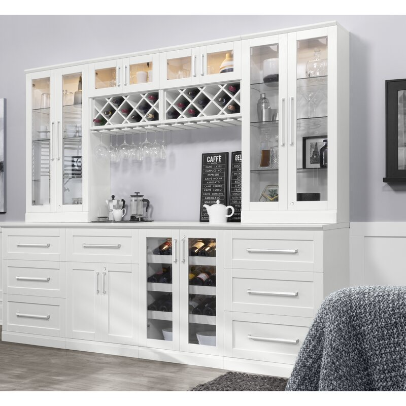Home Bar 6 Piece Shaker Style