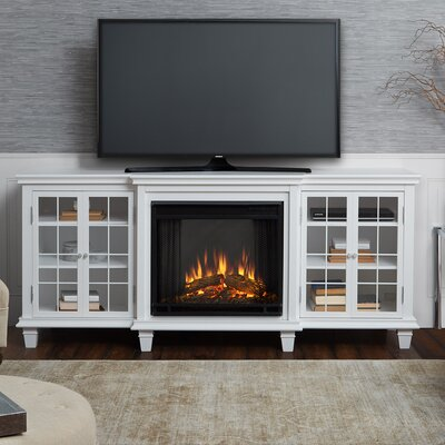 Surprising Marlowe Tv Stand With Electric Fireplace Interior Design Ideas Gentotthenellocom