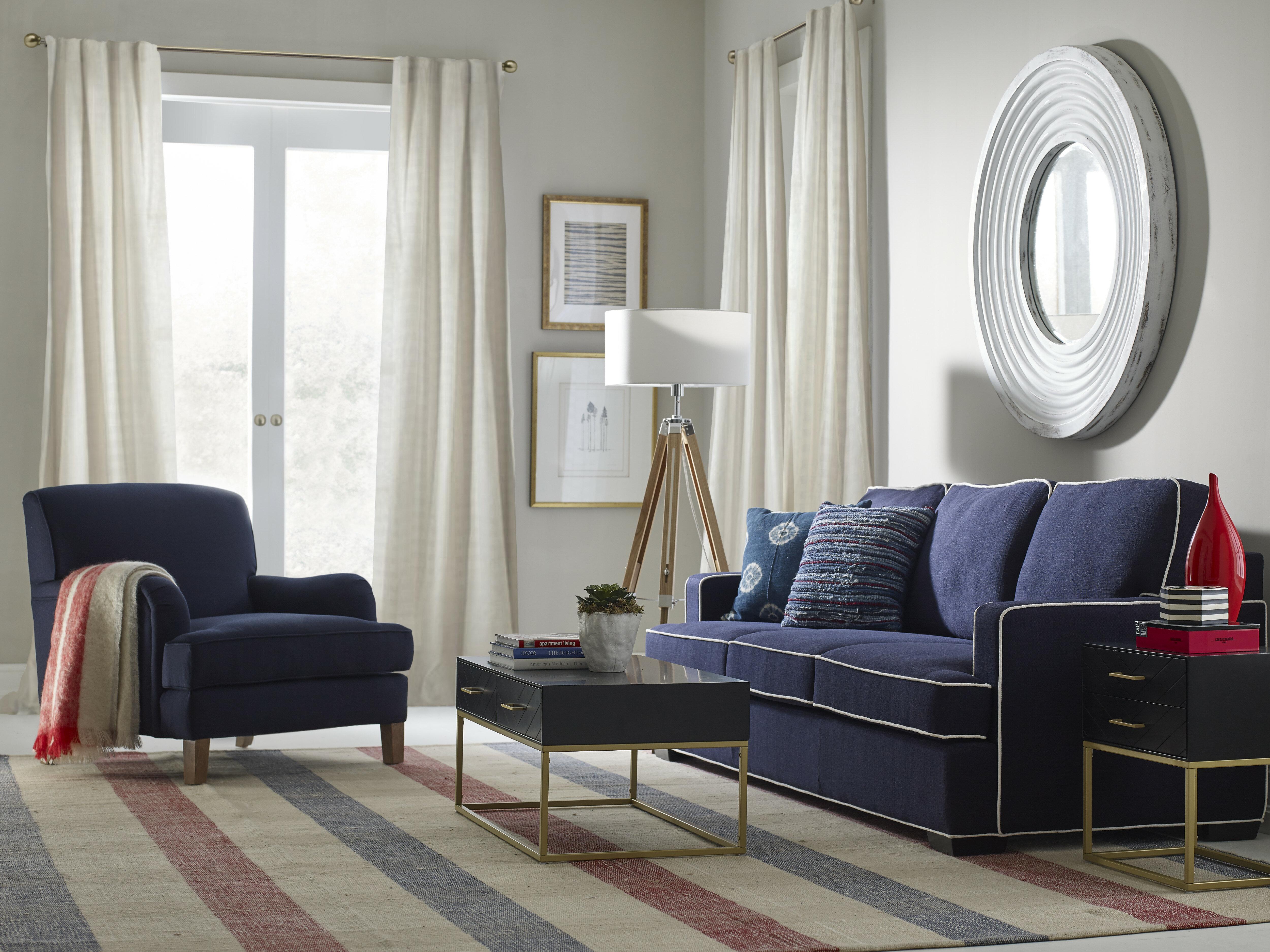 Beau Cardiff Configurable Living Room Set