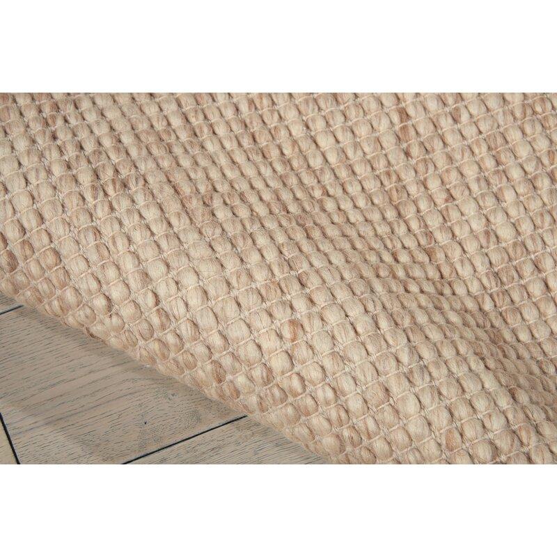 Lowland Hand Woven Cream Area Rug
