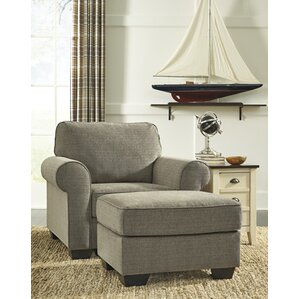 Syracuse Armchair with Ottoman by Darby Home Co