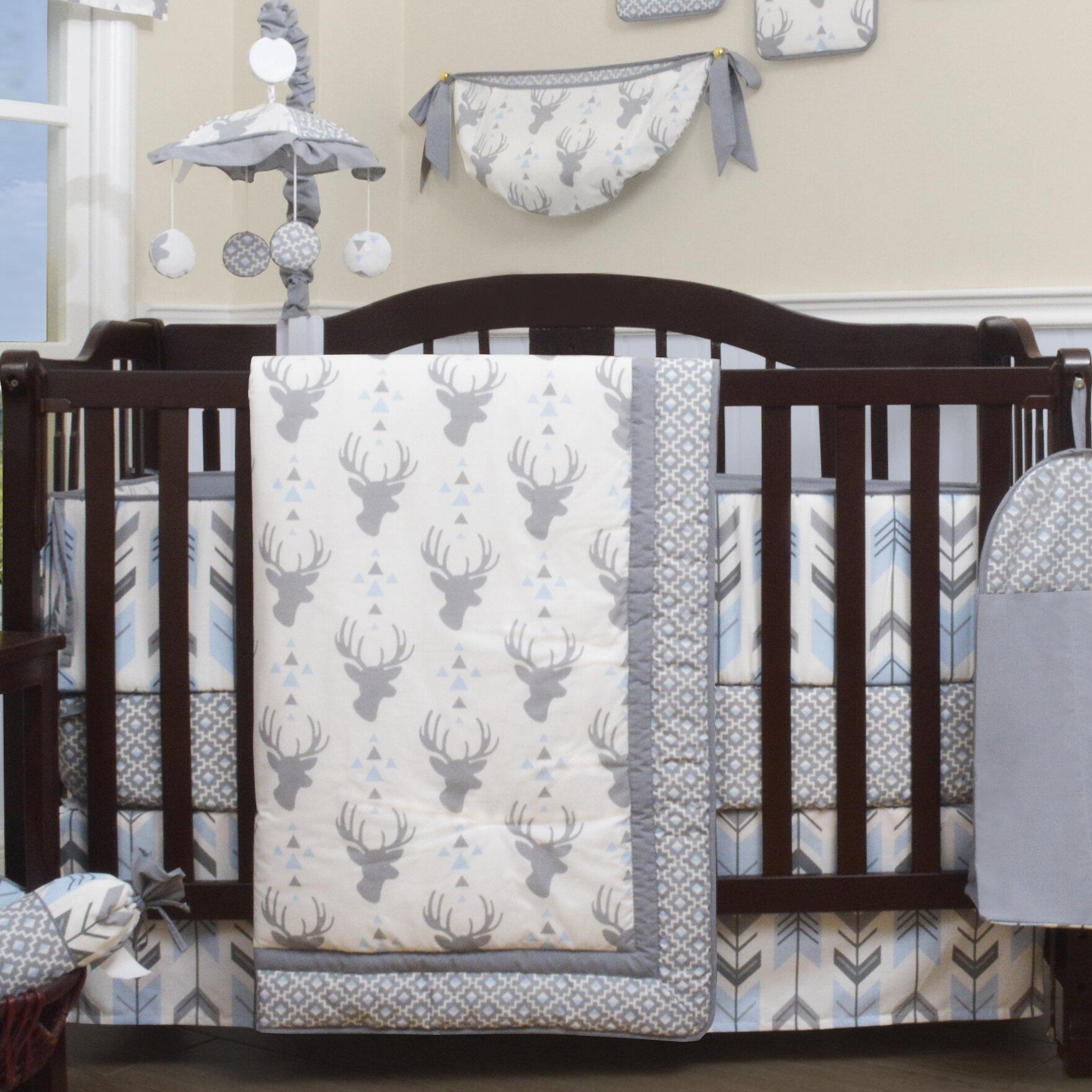 Viv Rae Doug Deer Nursery Arrow 13 Piece Crib Bedding Set Reviews Wayfair