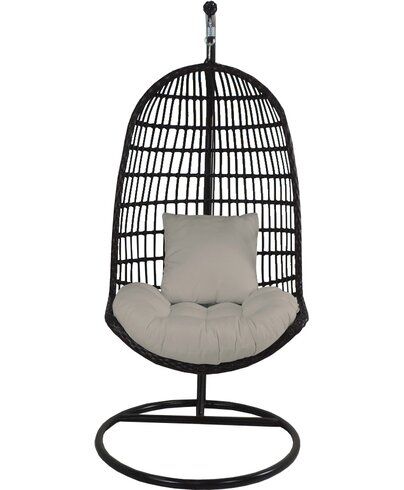Skye Birdu0027s Nest Swing Chair With Stand