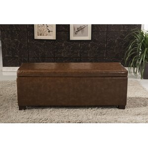 Luxury Storage Ottoman by Bellasario Collection