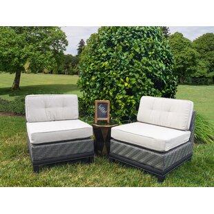Astounding Rattan Wicker Patio Lounge Chairs Youll Love Wayfair Machost Co Dining Chair Design Ideas Machostcouk