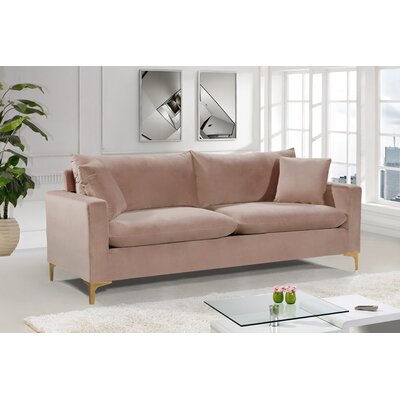 Pink Velvet Sofas You Ll Love In 2019 Wayfair