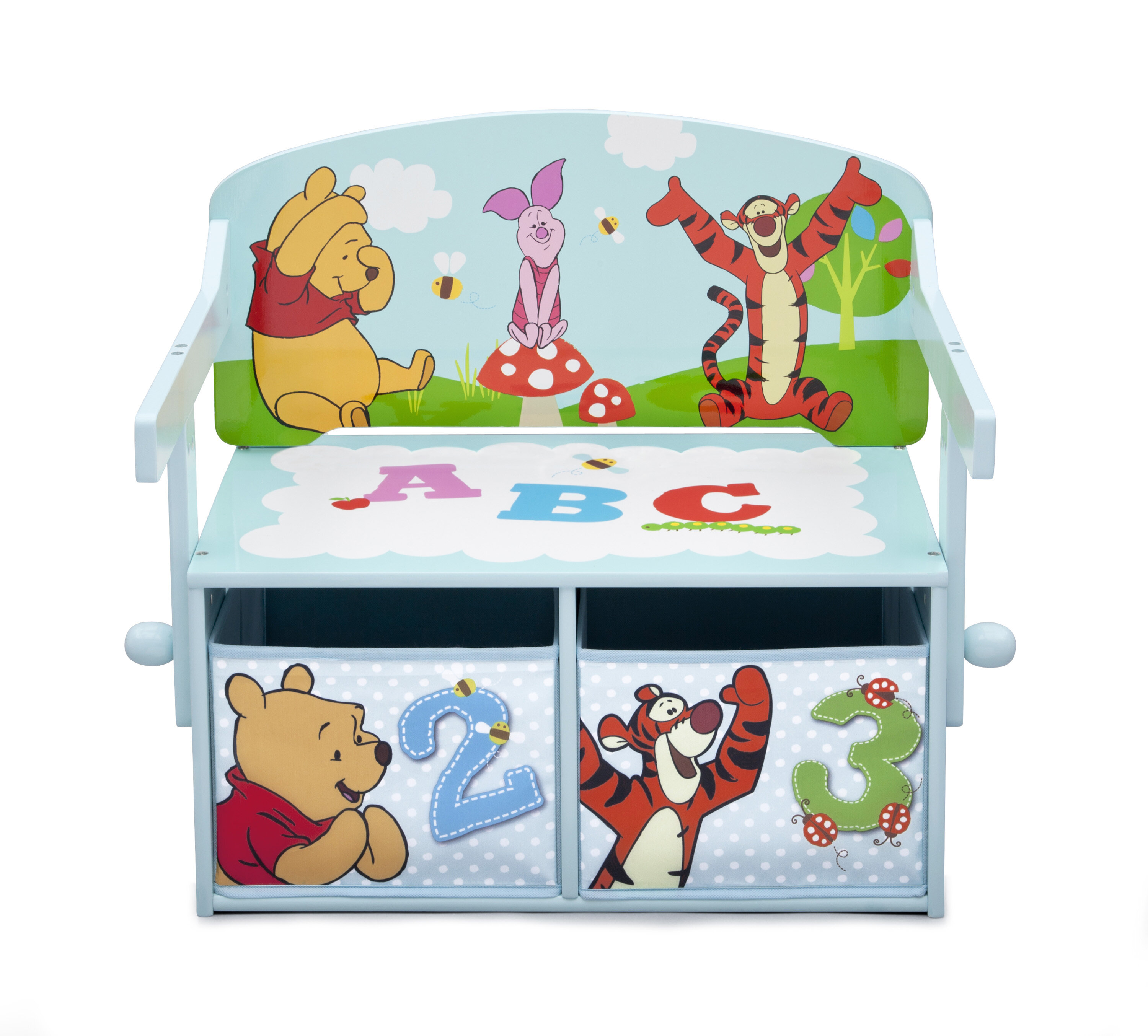 mdf kid box itm lid children organiser white toy chest westwood bench sentinel storage