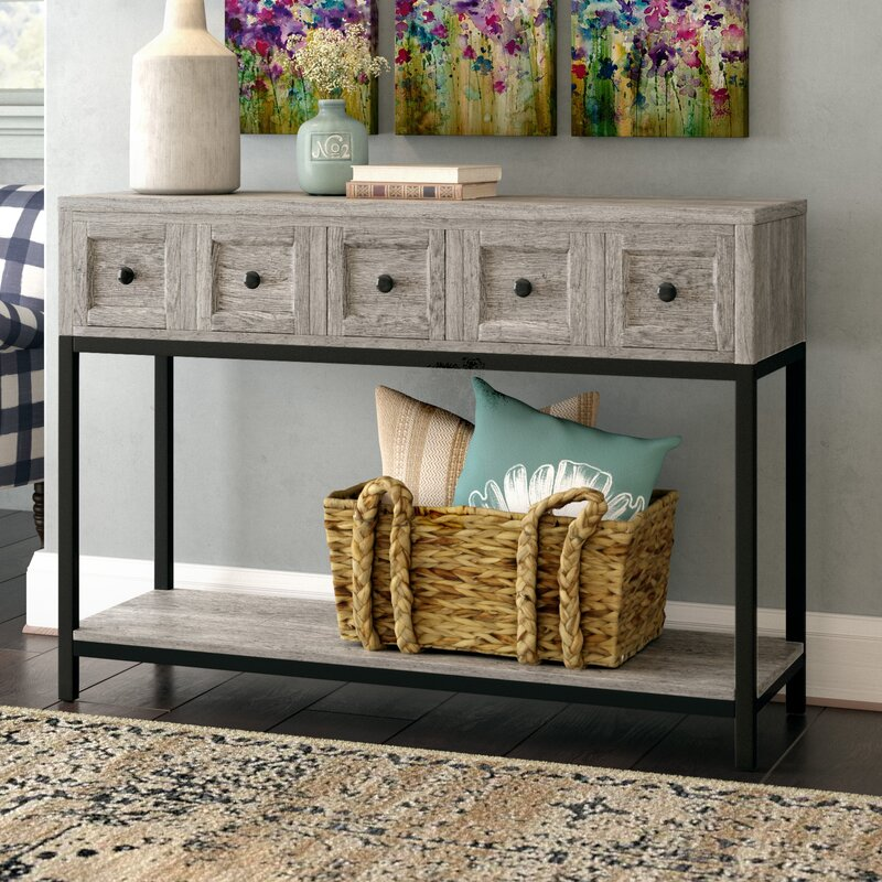 Laurel Foundry Modern Farmhouse Omar Console Table