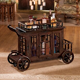 Cranbrook Manor Cordial Carriage Bar Cart
