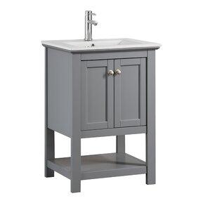 24 bathroom vanity with sink. Nash 24  Single Bathroom Vanity Vanities Joss Main