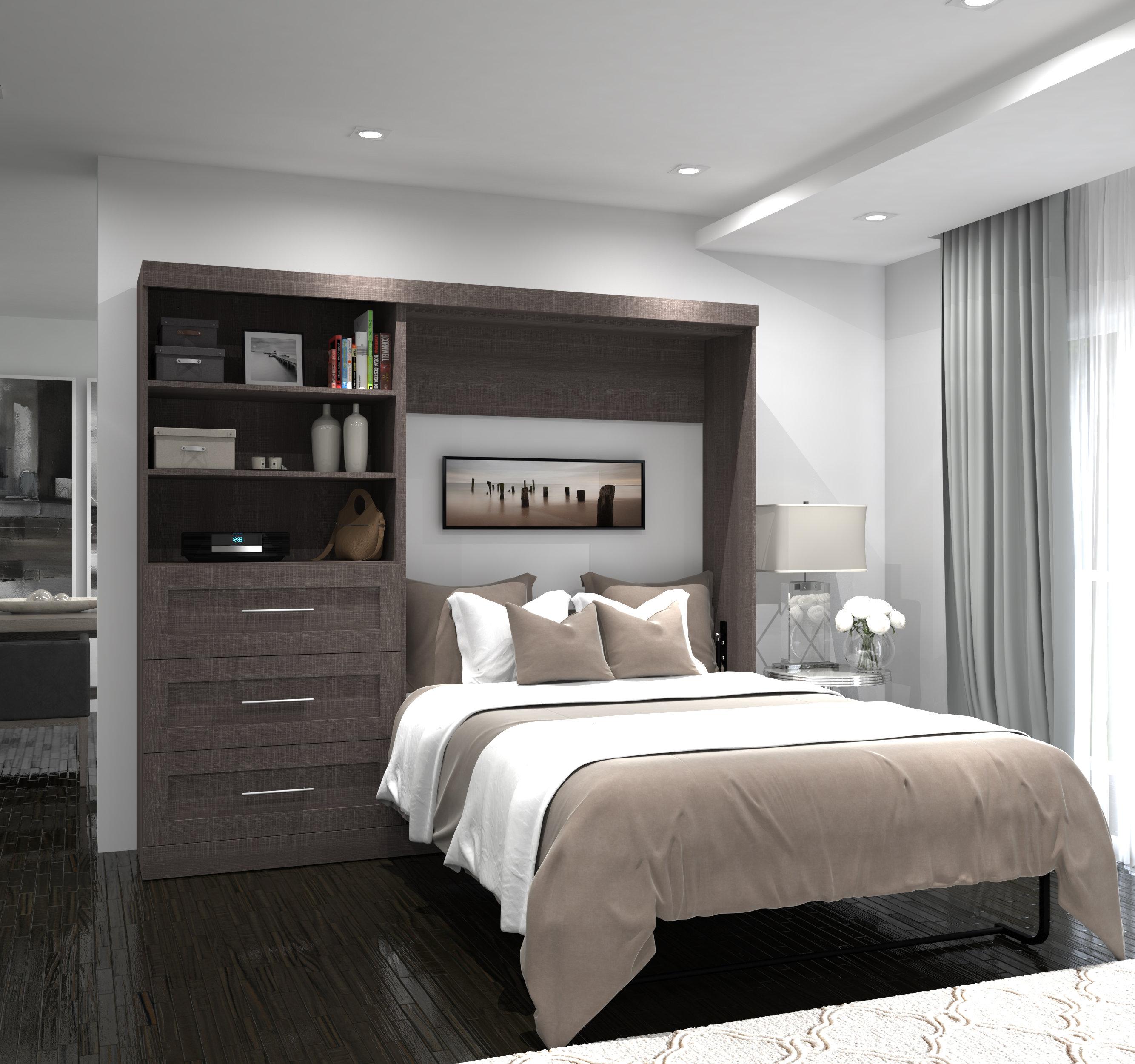 Murphy Bed.Walley Storage Murphy Bed