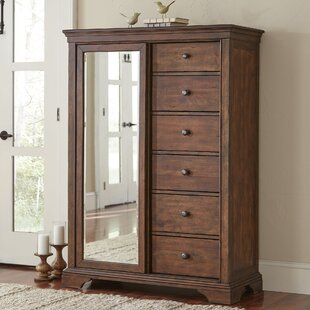 Schaffer 6 Drawer Gentlemanu0027s Chest